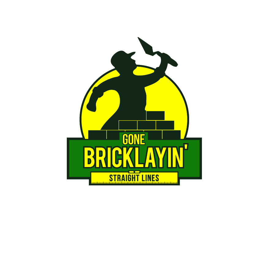 Gone Bricklaying Logo-01 - Wayne Seddon | Graphic Designer