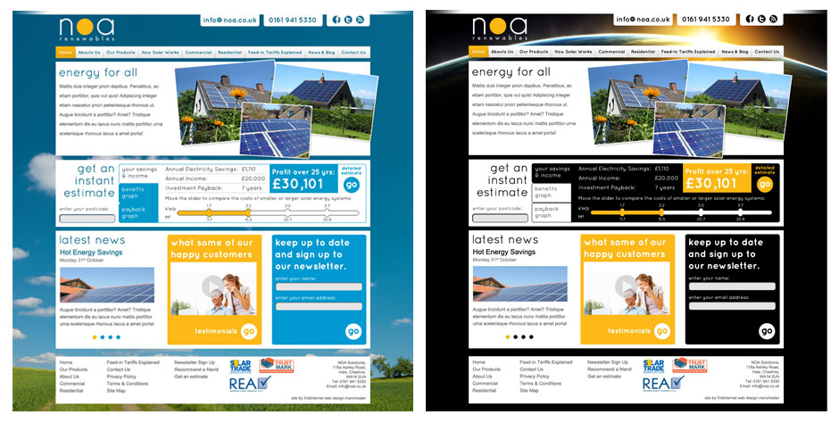 NOA-Homepages