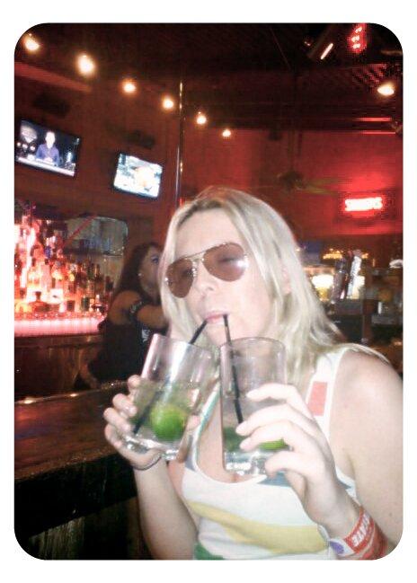 Cocktails at Diablos