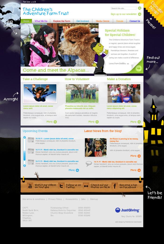 CAFT Homepage Halloween