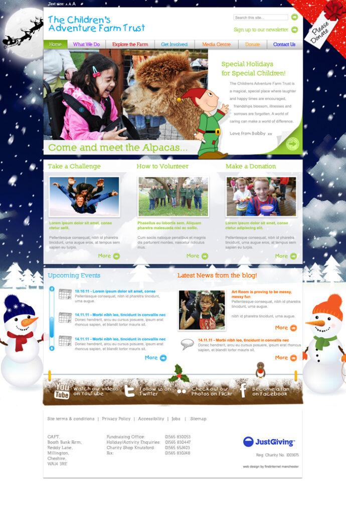 CAFT Homepage Xmas